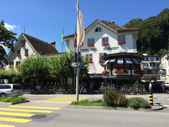 Nafels, Suiza: Restaurant Schwert