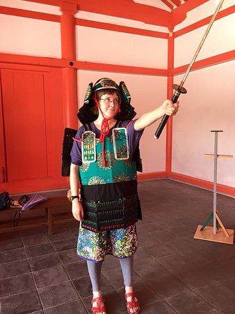 Oshu, Japan: Being a warrior!!