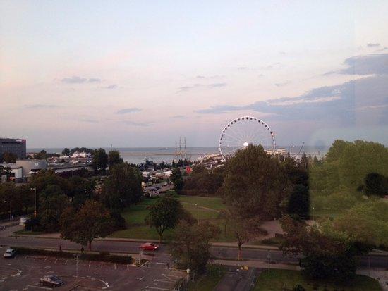 Mercure Gdynia Centrum: Atrakcje Gdyni widoczne z okien hotelu