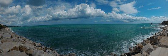 Spiaggia Rocco Mancini: panorama