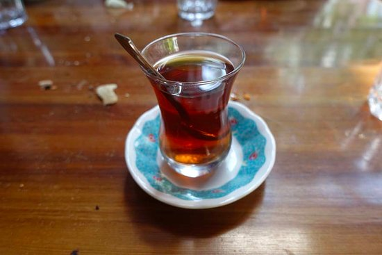 Cafe Rumist: Free Turkish Tea At The End Of Meal