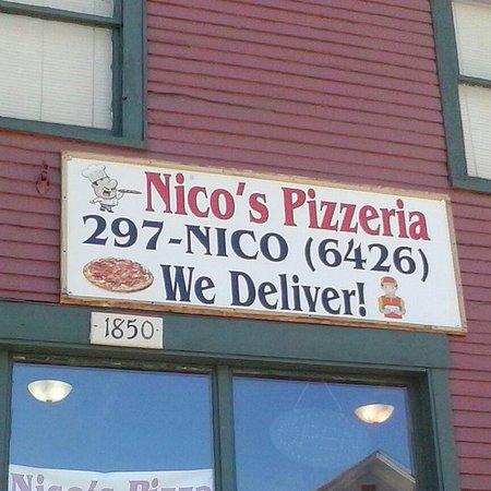 Rouses Point, Νέα Υόρκη: Nico's Pizzeria