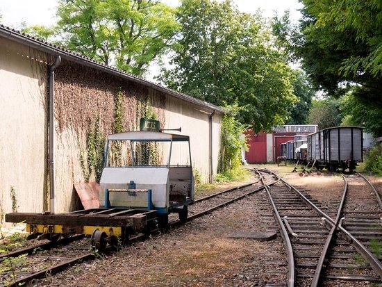Pontoise, France: Le parc extérieur