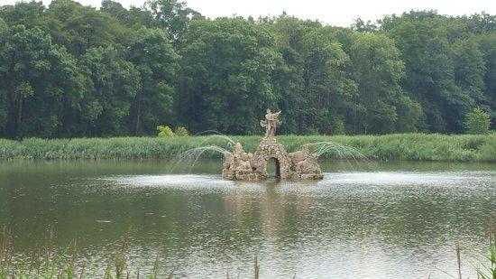 Memmelsdorf, Alemania: Wasserspiele im See