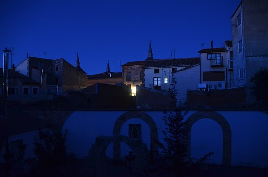Beautiful Lerma by night, from my room