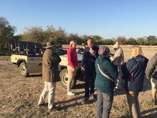 Sabie, Afrika Selatan: Game drive in Sabi Sabi
