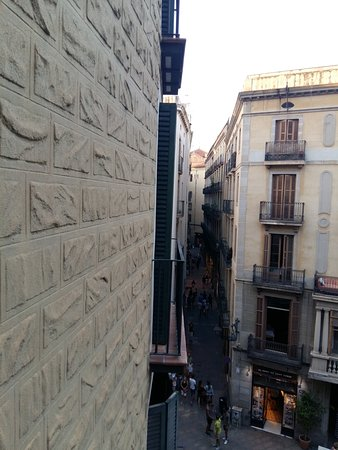el Jardi: View from the room.