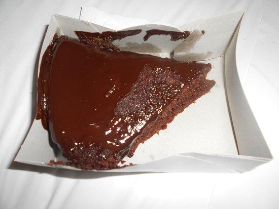 Pancho Tours: Tarta de chocolate