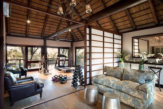 andBeyond Ngala Safari Lodge : Gym-at-andBeyond-Ngala-Safari-Lodge