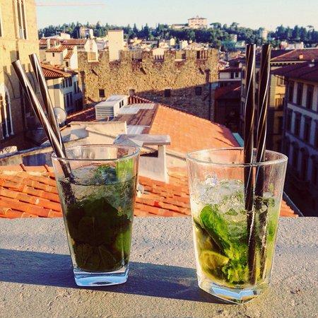Aperitivo Sui Tetti Di Firenze Picture Of Caffe La