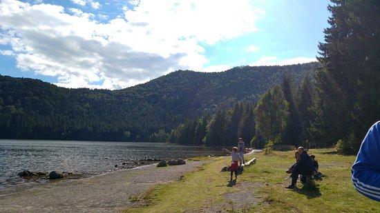 Baile Tusnad, Rumania: Saint Anna Lake