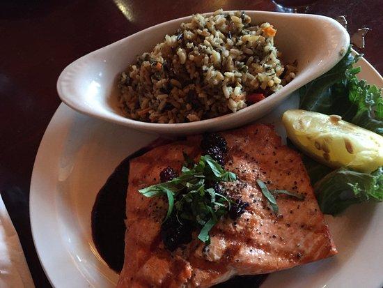 The Montana Club Restaurant - Butte: salmon