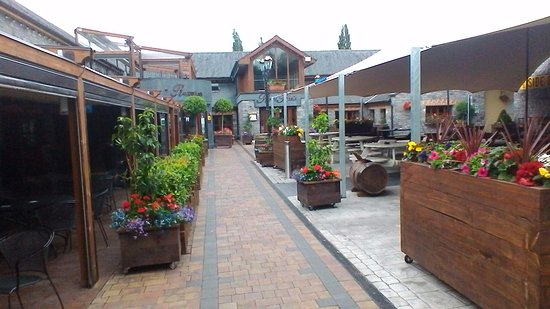 Leixlip, Irlande : the courtyard