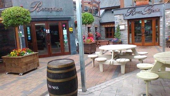 Leixlip, Irlande : entrance