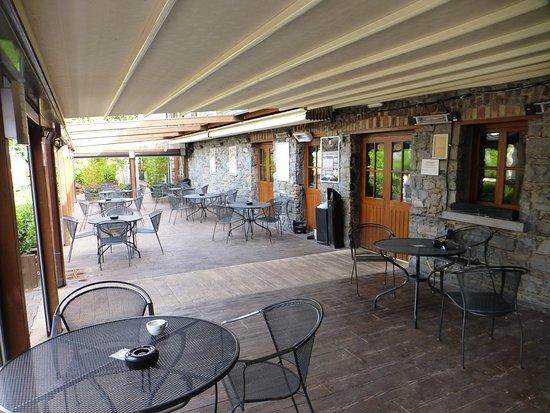 Leixlip, Irlande : covered courtyard