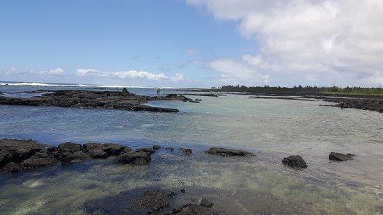 Pahoa, Гавайи: Kapoho Tide Pools - easy access and tranquility