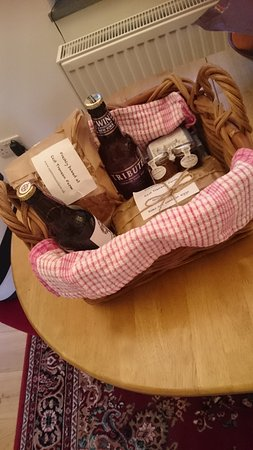 Widegates, UK: Our Welcome Basket