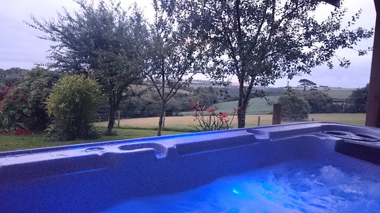 Widegates, UK: View from the Hot Tub