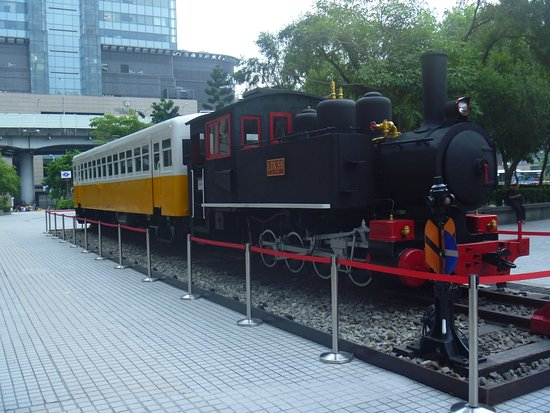 Taiwan Railway Steam locomotive No. LDK58