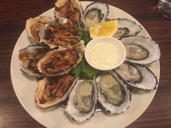 Benalla, Αυστραλία: Fabulous fresh oysters