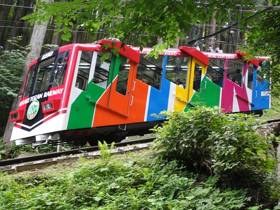 ทางรถไฟโทซัน มิตาเกะ