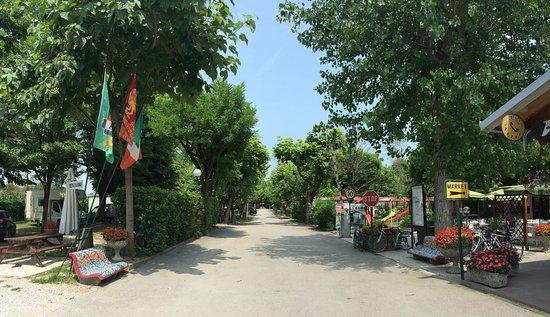 Malcontenta, Italia: Entrance