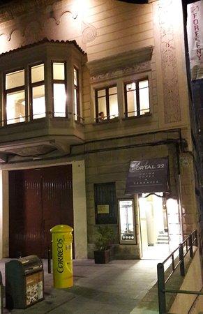 Valls, Spanyol: Fachada del restaurante