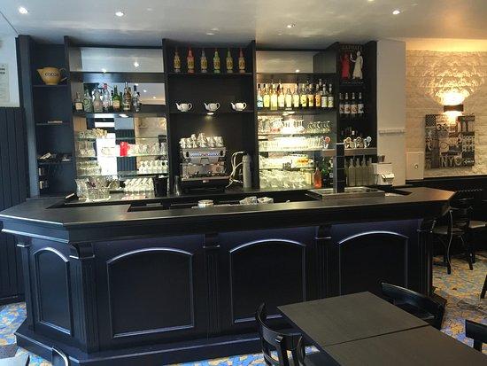 Restaurant de La Poste : Le bar