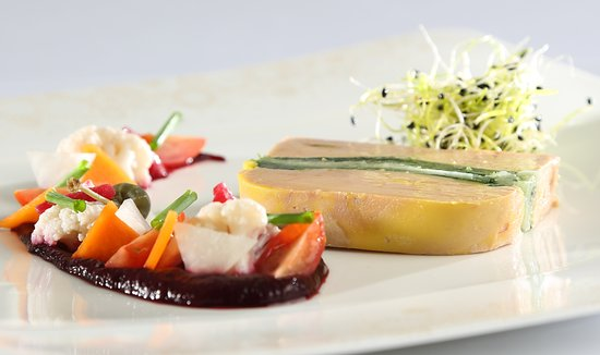 Saint-Martial-de-Nabirat, Francia: Foie mi-cuit