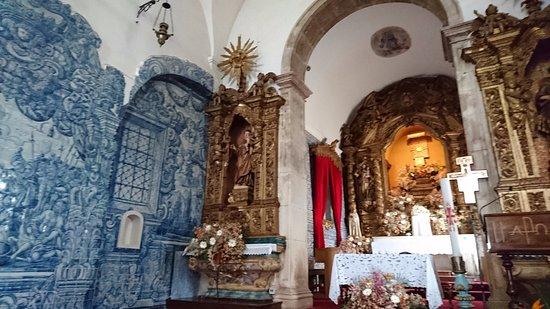 Igreja de Santo Antonio dos Olivais: 内部のアズレージョの写真です。
