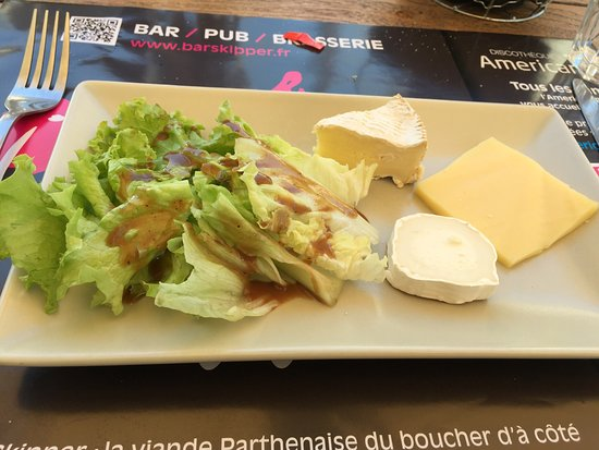 Parthenay, Francia: Desserten