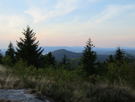 Tupper Lake, Νέα Υόρκη: Sunset on Coney Mountain