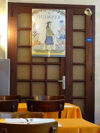 Déco intérieure - Bild von Creperie Au Feu De Bois, Quimper ...