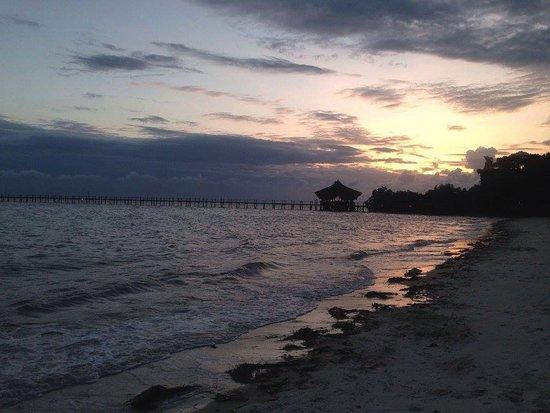 Fundu Lagoon: Sunset