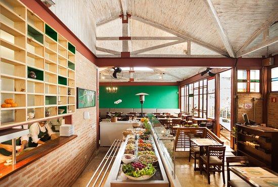 Resultado de imagem para Banana Verde restaurante crianças