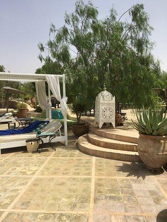 Mobilier Terrasse Photo De Restaurant Jardins De Villa Maroc