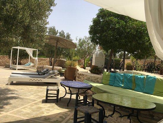 Terrasse Picture Of Restaurant Les Jardins De Villa Maroc