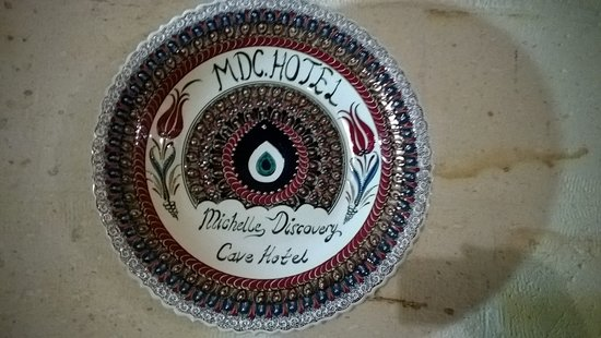 MDC Hotel: Wall Plate in Dining Room Wall