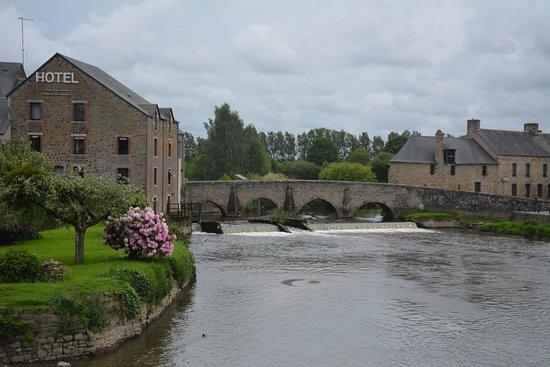 Vista da Ponte de Ducey