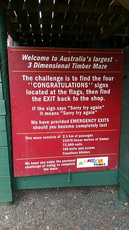 Cowes, Australië: A Maze'N Things