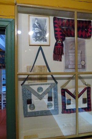Raahe Museum: Freemasons