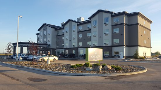 Selkirk, Canadá: Front view of the hotel