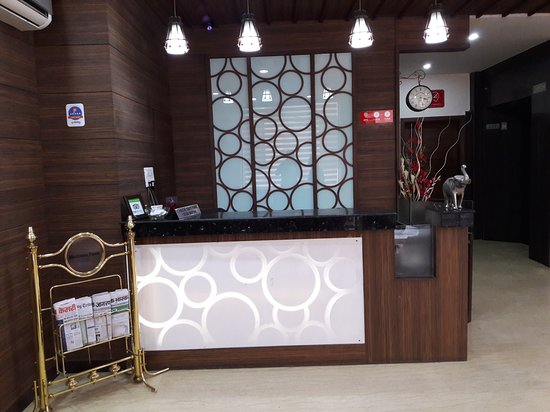 Hotel Namaskar Residency: Reception
