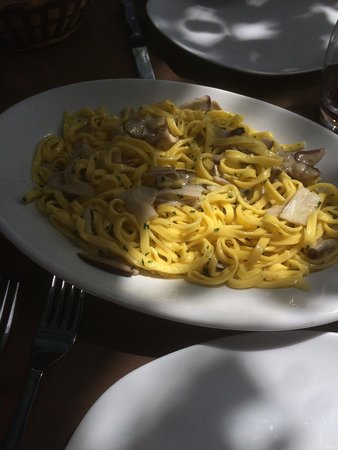 Castiglione di Garfagnana, İtalya: Funghi eccellenti, Fiorentina superlativa !