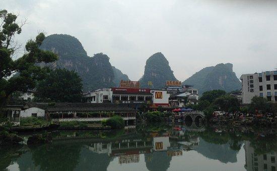 Guangxi, Kina: View from Li River Cruise #4