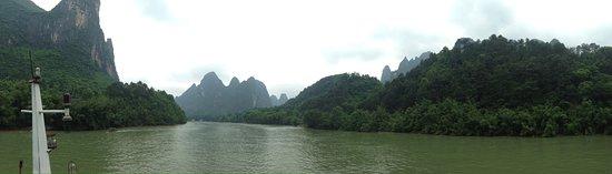 Guangxi, China: View from Li River Cruise #5