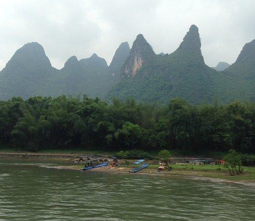 Guangxi, China: View from Li River Cruise #6