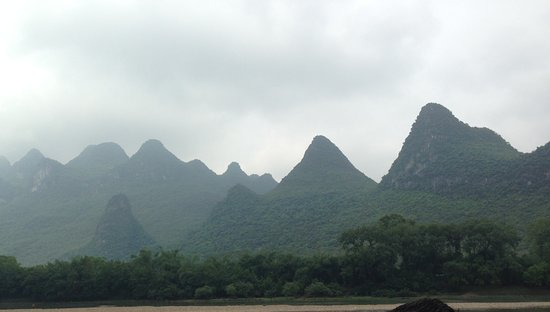 Guangxi Zhuang, Cina: View from Li River Cruise #7