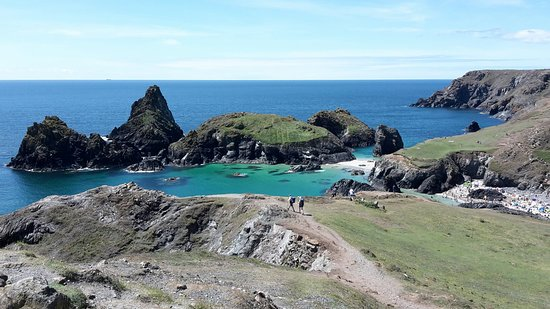 Kynance Cove from Lizard Green Walk