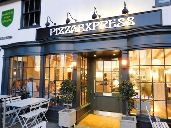 The Front Of The Restaurant Picture Of Pizza Express